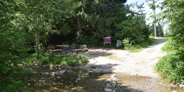 Steinmühle des Waldseilgarten Höllschlucht