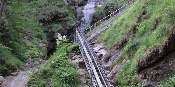 Einstieg zum Wasserfallweg