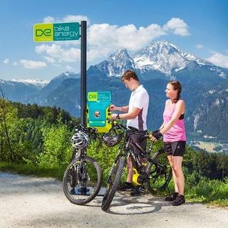 E-Bike Ladestation WGraflhöhe