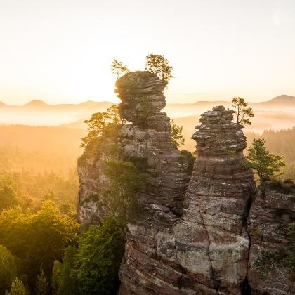 Dahner Felsenpfad, Lämmerfelsen in der Pfalz