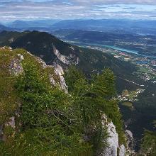 Drau / Drava from the summit