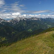 Ferlacher Horn / Grlovec summit view