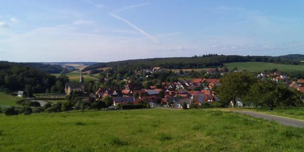 Kirnautal Richtung Altheim