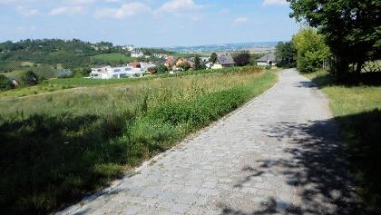 Kurz vor Hagenbrunn