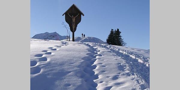 Feldkreuz am Hochtannbergpass
