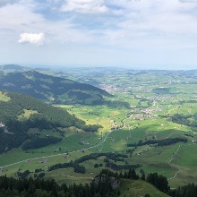 Panoramablick Appenzell