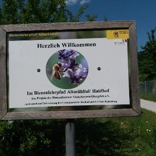 Bienenlehrpfad Altmühltal | Haidhof