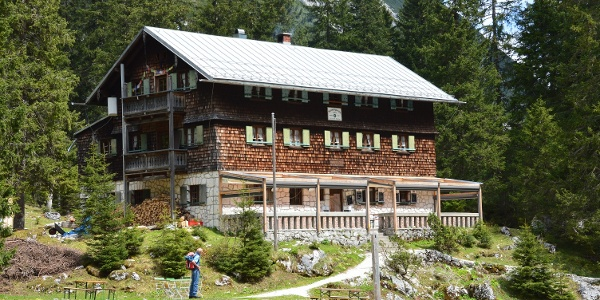 Die Reintalangerhütte - Eine Oase der Ruhe zwischen Garmisch und der Zugspitze