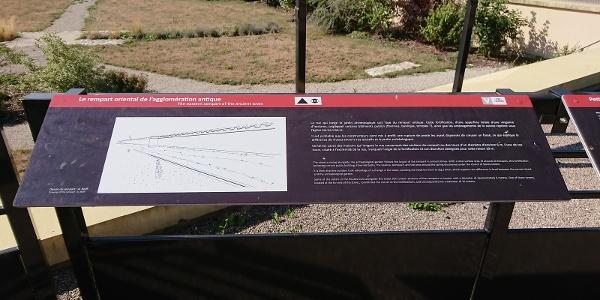 Jardin archéologique des thermes de l'amphithéâtre