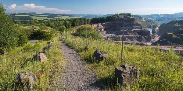 Steinbruchgelände Rammelsbach