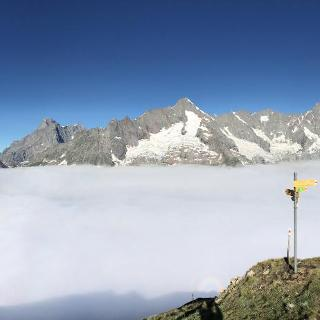 Blick vom Col du Basset Richtung Westen