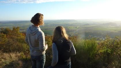 Aussicht von der Kupferberghütte