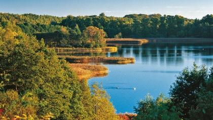Der Schaalsee in Mecklenburg-Schwerin