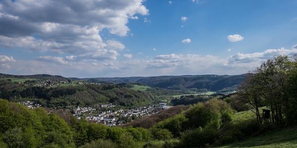 Oberhalb von Waldbreitbach