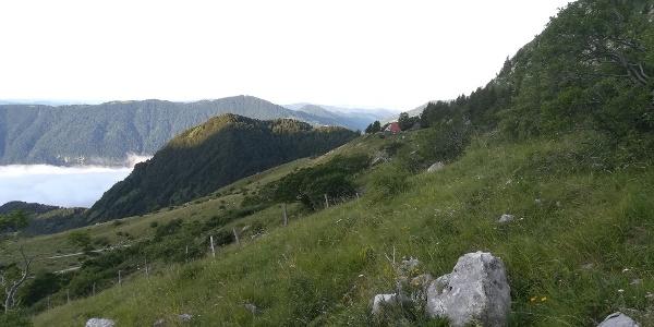 ein Blick nach Westen, auf Höhe der Kamni