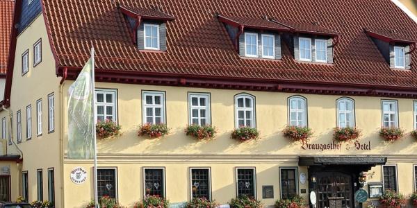 Brauhotel & Gasthof Grosch Außenansicht
