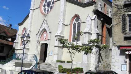 Saint-Genix-Sur-Guiers: Kirche
