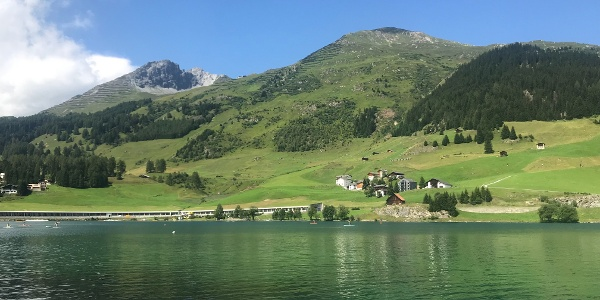 Across Davosersee