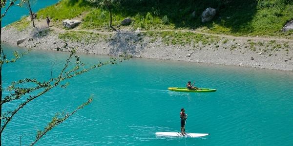 SUP al lago di Tenno