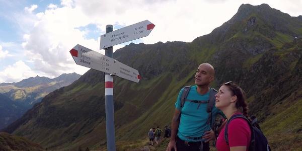 Wanderung zur Alpe Innerkapell  im Montafon   Vorarlberg