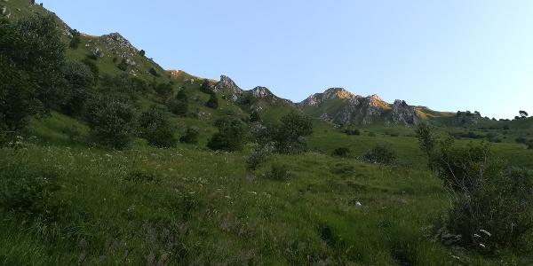 die östlichen Ausläufer des Punta di Montemaggiore
