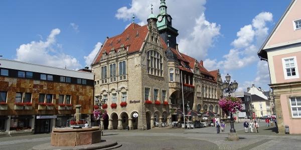 Rathaus Bückeburg, Marktplatz
