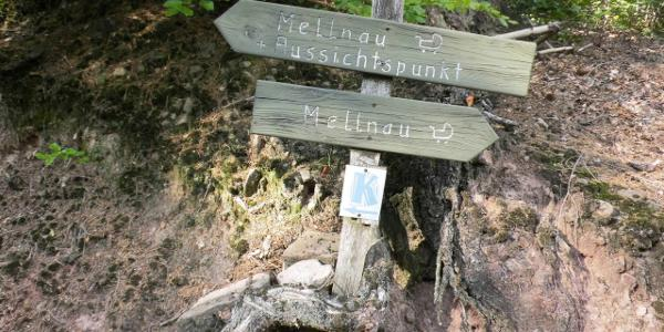 Geocaching auf dem Kuckucksweg in Mellnau