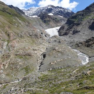 Gletscherzunge Gepatschferner