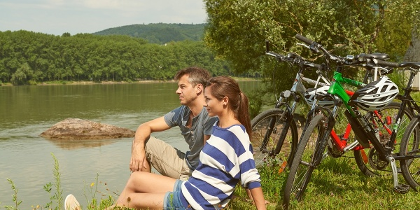Rasten an der Donau