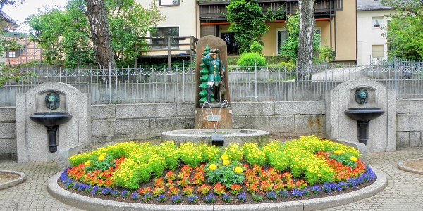 Brunnen in Lenzkirch