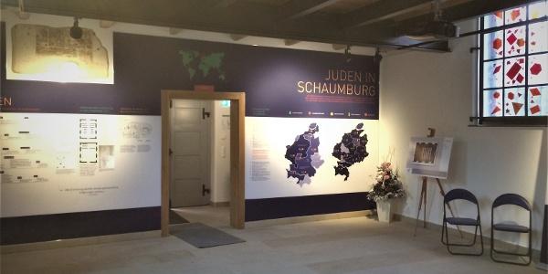 Ehemalige Synagoge Stadthagen, das Erdgeschoss heute