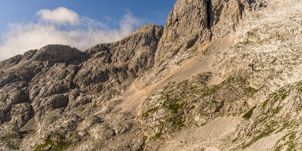 The Climb to Hribarice Mountain Pass