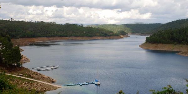 Cabril reservoir