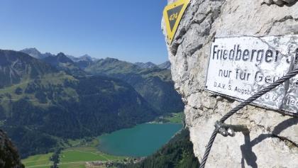 Friedberger Klettersteig am Schartschrofen