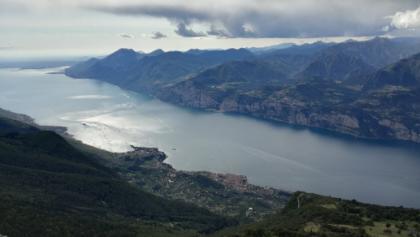 Vista del Monte Baldo su Malcesine