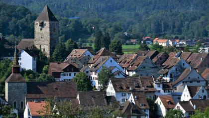 Blick auf Kaiserstuhl - Schweiz