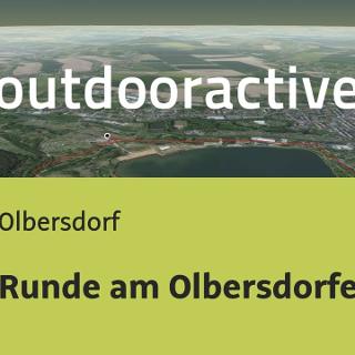 Radtour in Olbersdorf: Runde am Olbersdorfer See