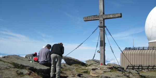 Großer Speik Gipfelkreuz