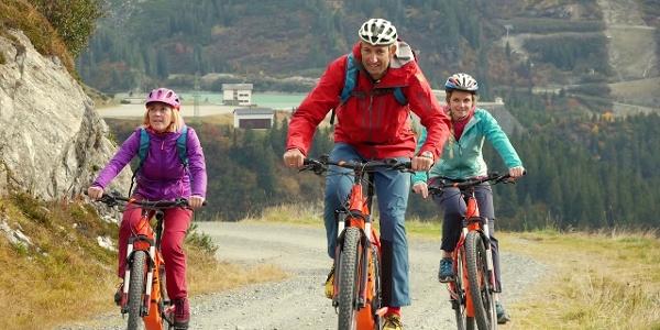 E-Biketour zur Heilbronner Hütte im Montafon   Vorarlberg
