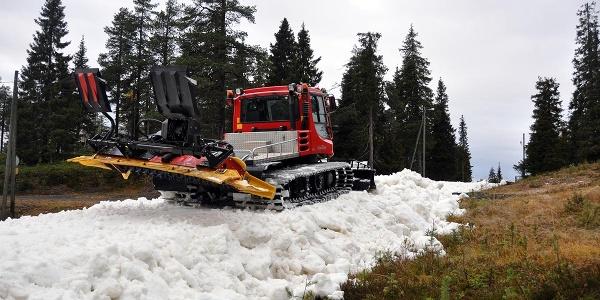 First Snow Ski Trail, Ruka village, Kuusamo