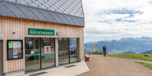 Bergstation Rigi Scheidegg