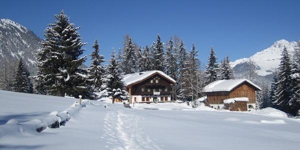 Wurzbergalm im Winter
