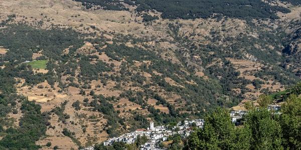 View to Capileira as you Begin the Climb