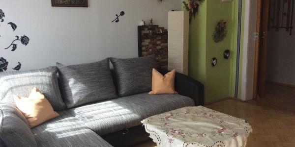 Treffi's Ferienwohnung: Wohn-Schlafzimmer