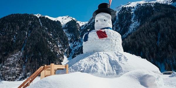 großer Schneemann - Ötztaler Langlaufzentrum