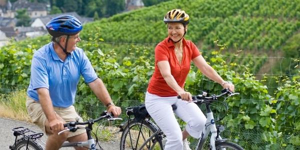 Fahrradfahren im Ahrtal