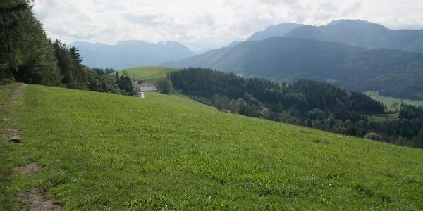 Rückblick auf den Kronbauer und in das Sengsengebirge.