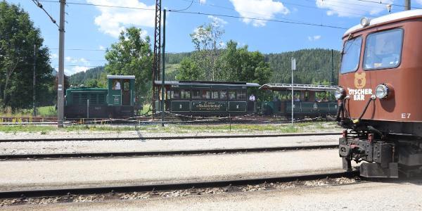 Am Bahnhof Mariazell