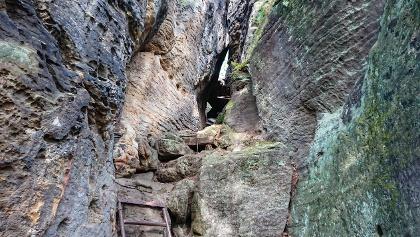 Der Aufstieg auf den Kleinen Bärenstein