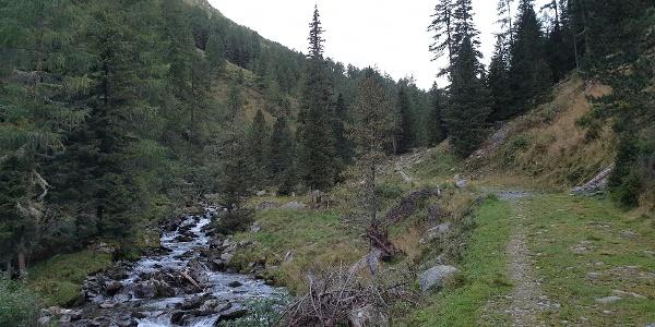 Dem Flussverlauf folgend